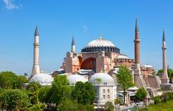 Hagia Sophia on a sunny summer day Royalty Free Stock Photo