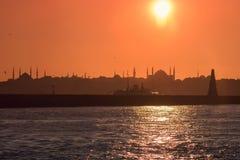 Hagia Sophia sylwetka Obrazy Stock