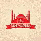 Hagia Sophia - the symbol of Turkey, Istanbul Stock Images