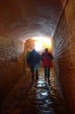 Hagia Sophia tunnel Royalty Free Stock Photo