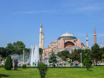 Hagia Sophia in Turkey Stock Images