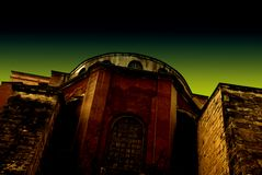 Hagia Sophia in Turkije Royalty-vrije Stock Foto