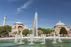 Hagia Sophia And Turkish Hamam, Istanbul, Turkey Stock Photos