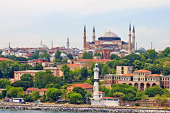 Hagia Sophia und Istanbul Stockbilder