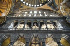 Hagia Sophia underbar inre royaltyfri foto