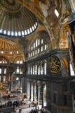 Hagia Sophia underbar inre royaltyfria foton