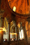 Hagia Sophia upper gallery Royalty Free Stock Images