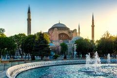 Hagia Sophia view Stock Images