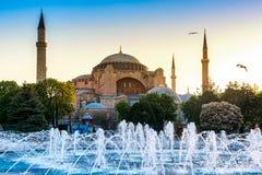 Hagia Sophia view Royalty Free Stock Image