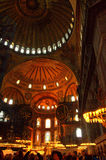 Hagia Sophia visitors Royalty Free Stock Image
