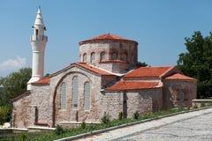 The Hagia Sophia of Vize. Tle Hagia Sophia of Vize and Gazi Suleyman Pasha Mosque, Kirklareli Stock Photo