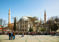 Hagia Sophia w Istanbuł, Turcja wcześnie w ranku Fotografia Royalty Free