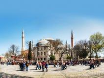 Hagia Sophia w Istanbuł, Turcja wcześnie w ranku Zdjęcia Royalty Free