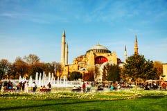 Hagia Sophia w Istanbuł, Turcja w ranku Obraz Royalty Free