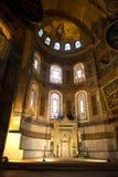 Hagia Sopia kyrka, museum, lopp Istanbul Turkiet Arkivbild