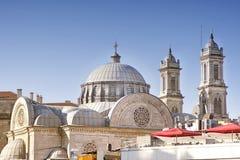Hagia Triada希腊东正教,伊斯坦布尔,土耳其 库存图片
