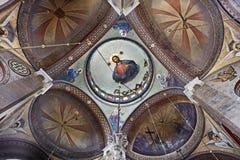Hagia Triada (三位一体)教会 免版税库存照片