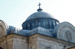 Hagia Trias Church in Taksim. Royalty Free Stock Images