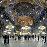 hagia wewnętrzny Istanbul sophia Obraz Stock
