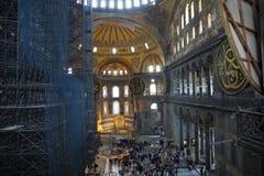 Hagia Wnętrze Sophia Fotografia Stock