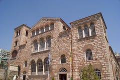 Hagios Demetrios. Church of Saint Demetrius (Hagios Demetrios) in Thessaloniki, Greece Royalty Free Stock Image