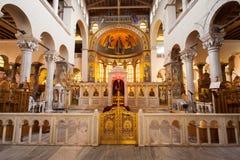 Hagios Demetrios Church, Thessaloniki Royaltyfri Fotografi