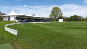 Hagley oval in christchurch new zealand. Royalty Free Stock Images