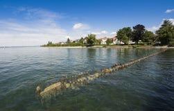 Hagnau - озеро Констанция, Baden Wuerttemberg, Германия, Европа Стоковое фото RF
