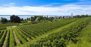 Hagnau - озеро Констанция, Baden Wuerttemberg, Германия, Европа Стоковые Фотографии RF