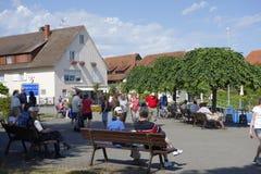 Hagnau, het Meer van Konstanz, Duitsland stock fotografie