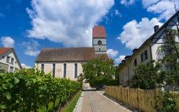 Hagnau - Jeziorny Constance, Baden-Wuerttemberg, Niemcy, Europa Zdjęcie Royalty Free