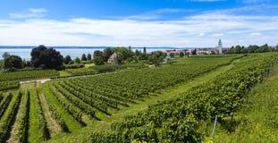 Hagnau - Jeziorny Constance, Baden-Wuerttemberg, Niemcy, Europa Zdjęcia Royalty Free