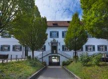 Hagnau - Jeziorny Constance, Baden-Wuerttemberg, Niemcy, Europa Obraz Stock