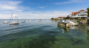 Hagnau - Lac de Constance, Bade-Wurtemberg, Allemagne, l'Europe Images stock