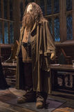 Hagrid Costume at Warner Bros Studio. LEAVESDEN, UK - JUNE 19TH 2017: The costume for the character Rubeus Hagrid at the Making of Harry Potter studio tour at Royalty Free Stock Photo