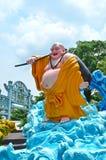 Hagtornmedeltalvilla: Maitreya Buddha Fotografering för Bildbyråer