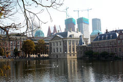 The Hague. Binnenhof buildings of the Dutch Government in the Hague Stock Photography