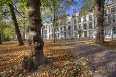 The Hague in Autumn Royalty Free Stock Photography