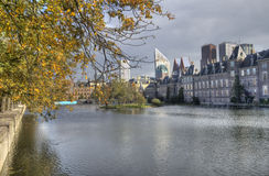 The Hague in Autumn Royalty Free Stock Photos