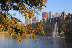 The Hague in Autumn, Holland Royalty Free Stock Images