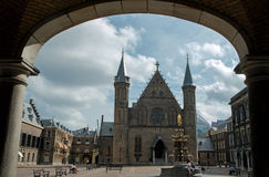 The Hague Binnenhof Royalty Free Stock Photography