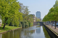 Hague canal Royalty Free Stock Photos