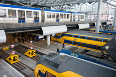 The Hague Central train Station Royalty Free Stock Image