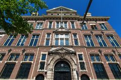 The hague city in the netherlands royalty free stock photo