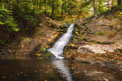 Hague Falls. Located in Hague New York Adirondacks stock photography