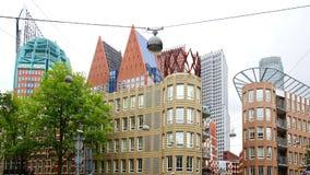 The Hague horisont, Nederländerna Fotografering för Bildbyråer