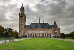 The Hague. International court of justice in Hague, Netherlands Stock Photography