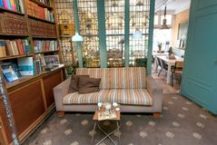 Amazing Old Book Shop With Antique Windows Couch And Tables For Uwap Interior Chair Design Uwaporg