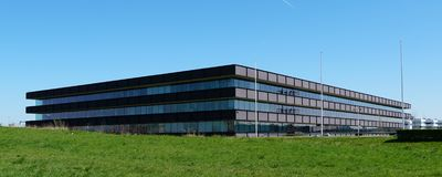 Dutch Forensics Intitute or NFI headquarters stock photography
