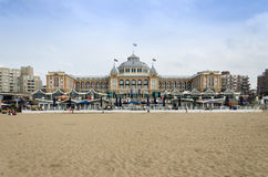 The Hague, Netherlands - May 8, 2015: Tourists at Kurhaus of Sch Royalty Free Stock Photo